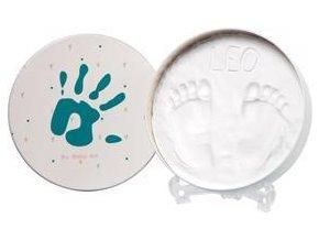 BABY ART Rámeček na otisky Magic Box - round Essentials