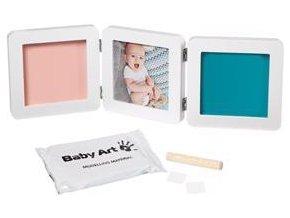 BABY ART Rámeček na otisky a fotografii My Baby Touch - Double White