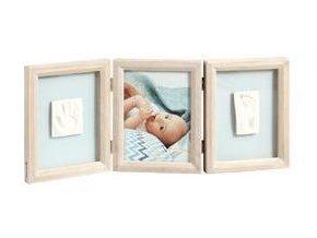 BABY ART Dvojitý rámeček na otisky + foto - Stormy