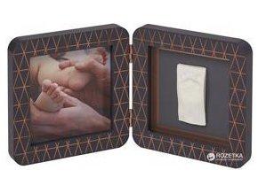 BABY ART Rámeček na otisky My Baby Touch - Simple Coopper Edditon Dark Grey