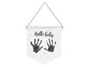 BABY ART Vlaječka na otisk My Baby Flag Essentials