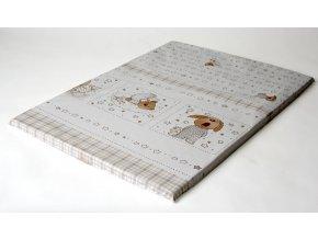 Ladotex Kft. Plochá přebalovací podožka 50x70 Vzor: 11 ospalý medvídek