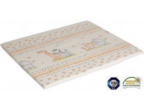 Ladotex Kft. Plochá přebalovací podložka 75x85 Vzor: 07 žirafa