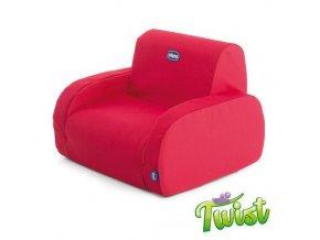 CHICCO Křesílko Twist - Red