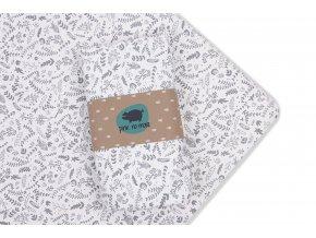 PINKnoMore Prostěradlo bavlna 120x60 BOTANIC