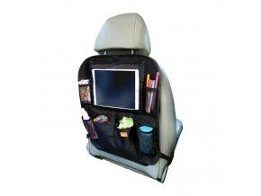 DREAMBABY Organizér na zadní sedadlo auta s držákem na tablet černý
