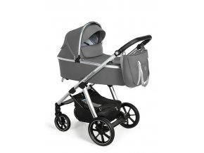 BABY DESIGN Kočárek kombinovaný Bueno 207 Grey