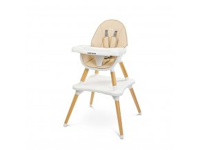 Jídelní židlička CARETERO TUVA beige