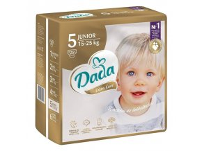 DADA Jednorázové pleny Extra Care Junior vel. 5 (15 - 25 kg), 28 ks