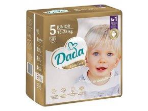 DADA Pleny jednorázové Extra Care Junior vel. 5 (15 - 25 kg), 28 ks
