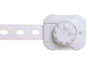 DREAMBABY Uzávěr bezpečnostní univerzální TWIST 'N LOCK 6 kusů bílá