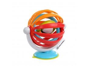 BABY EINSTEIN Hračka aktivní s přísavkou Sticky Spinner ™ 3m +
