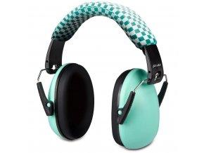 Ochranná sluchátka pro dítě, green BV-71