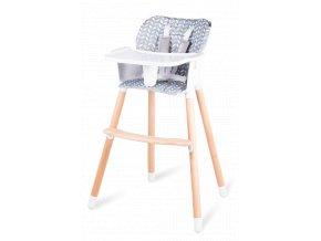 Dřevěná jídelní židlička KOEN