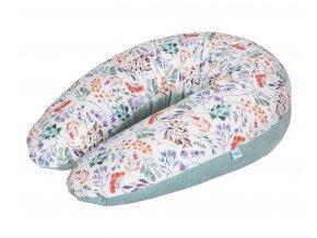 CEBA Polštář na kojení Cebuška PHYSIO Multi Rowanberry Samet
