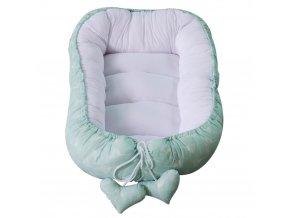 Hnízdo pro miminko Puer Dandelions Mint