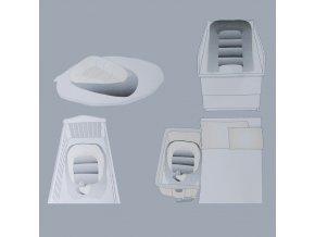 Hnízdo pro miminko Puer Dolce Grey