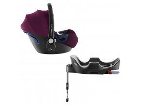 Autosedačka Baby-Safe 2 i-Size Bundle Flex, Burgundy Red