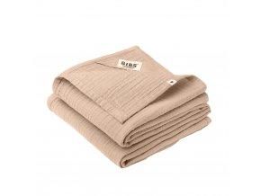 BIBS mušelínové plienky z BIO bavlny 2ks Blush