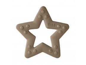 BIBS Baby Bitie hryzátko Star Dark Oak
