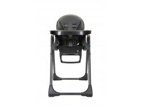 Topmark ROBIN jídelní židle ekokůže černá