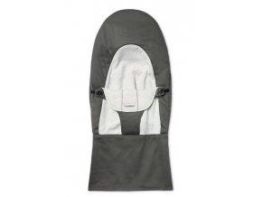 Potah na lehátko Soft Dark grey/Grey cotton Jersey