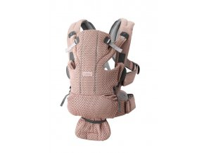 Babybjorn ergonom.nosítko MOVE Dusty pink 3D Mesh