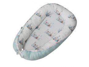 EKO Hnízdo pro miminko bavlněné Western 90x60 cm