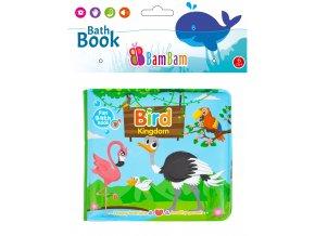 knížka do koupele ptáčci