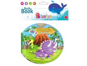 knížka do koupele svět dinosaurů