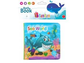 knížka do koupele mořský svět