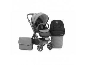 BabyStyle Oyster 2 City Grey (kočárek+taška+fusak)