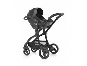 BabyStyle Egg Shell (i-Size) autosedačka, Just Black 2021