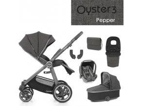 BabyStyle Oyster 3 luxusní set 6 v 1 - Pepper 2021