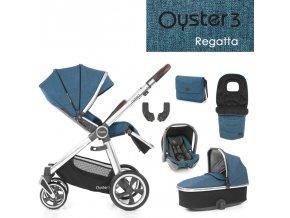BabyStyle Oyster 3 luxusní set 6 v 1 - Regatta 2021