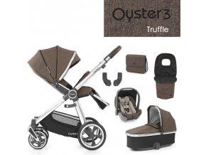 BabyStyle Oyster 3 luxusní set 6 v 1 - Truffle 2021