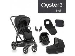 BabyStyle Oyster 3 luxusní set 6 v 1 - Noir 2021