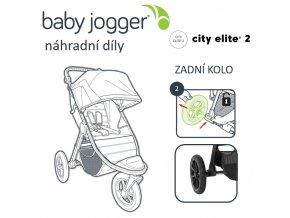 BabyJogger KOLO zadní CITY ELITE 2