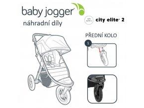 BabyJogger KOLO přední CITY ELITE 2