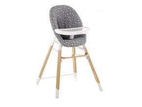 JANÉ Židle jídelní 3v1 Woody Star