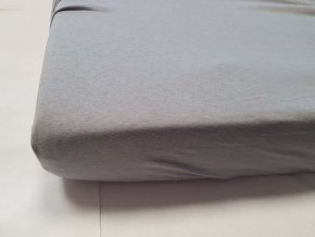 DAUBNER Prostěradlo bavlněné 120x60 cm Grey