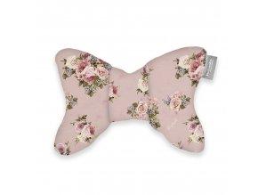 Beztroska polštářek motýlek PINK ROSES