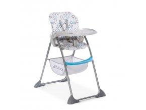 Hauck Jídelní židle Sit N Fold circles blue