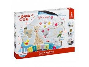 Vulli Dotykový a hrací panel žirafa Sophie