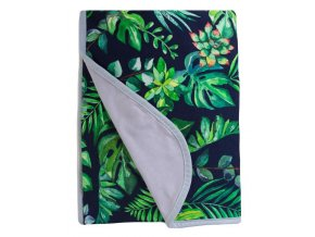 BABYMATEX Deka bambusová bavlněná oboustranná Džungle 75x100 cm