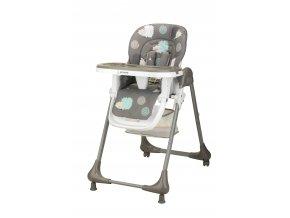 Bomimi LARA jídelní židle JEŽEK-grey