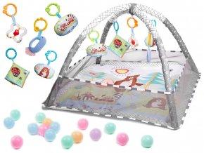 Hrací deka bazén s balónky