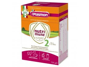 PLASMON Nutrimune 2 pokračovací mléko 2x350 g, 6m+