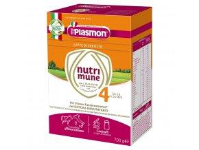 PLASMON Nutrimune 4 batolecí mléko 2x350 g, 24m+