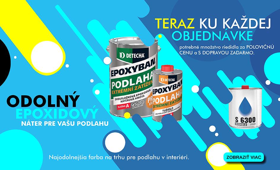 Epoxyban - odolný epoxidový náter pre Vašu podlahu